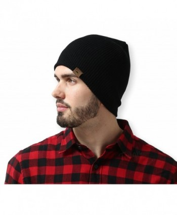 Daily Ribbed Beanie Tough Headwear - Black - C212MJ4DPL7