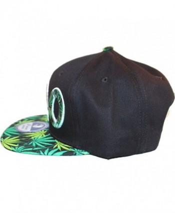Loyal Cloth Weed Snapback Design in Men's Baseball Caps