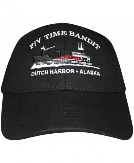 F/V Time Bandit Boat Hat Black - CL110KX8X5N