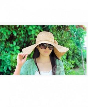 Messar Womens Summer Folable Bowknot in Women's Sun Hats