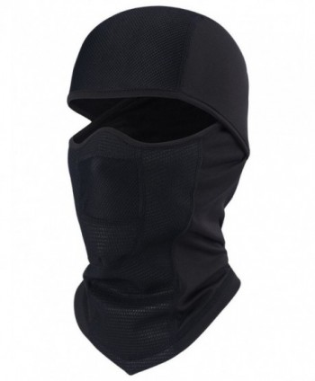ChinFun Balaclave Windproof Motorcycle Comfortable - A Black Balaclava-Fleece Lining - CI186L87DIA
