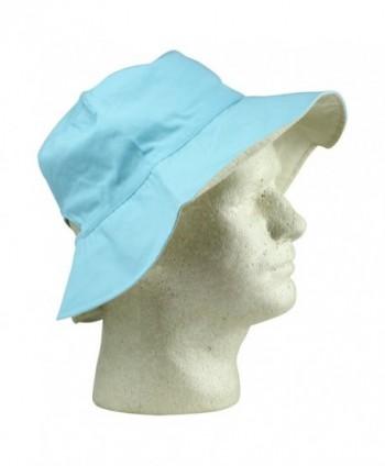 Womens Ponytail Bucket Blue Ivory
