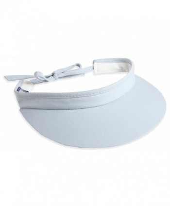 "Town Talk 3"" Tie-Back Visor -5350 - Light Blue - C712FA45VLJ"