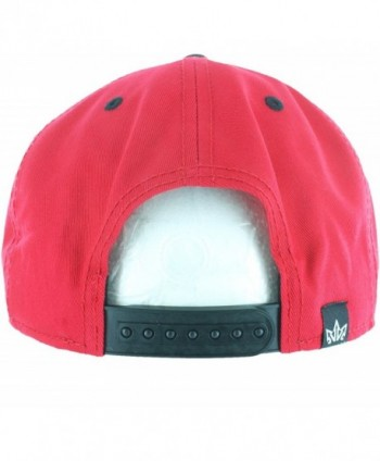 Snapback Hats Daytona Leather Bill in Women's Baseball Caps