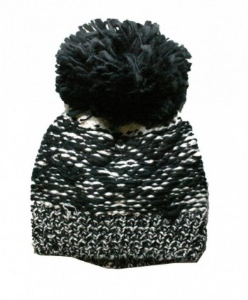 Womens Handcrafted Chunky Knitted Beanie in Women's Skullies & Beanies