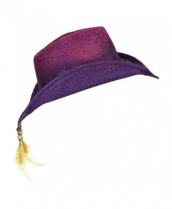 Peter Grimm Womens Purple Shapeable in Women's Cowboy Hats
