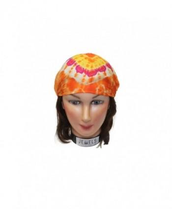 Embroidery Headbands Headband Fashion Exercise - Orange - CI12L3AS06R