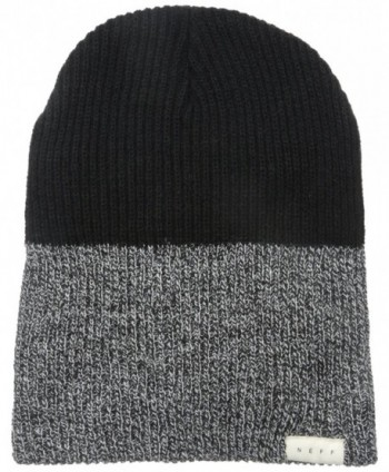 NEFF Men's Duo Beanie - Black Heather/Black - CH11W05CZC1