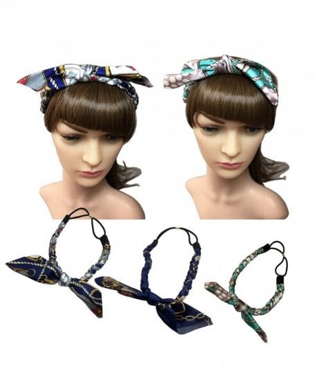 YSJOY Sweet Little Flower Headband Bow Hair Band Headwear For Girls - 3 Color - CL186I2TERL