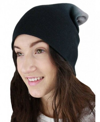 YogaColors Essential Slouchy Beanie - Black Ombre - CT11QLO0795