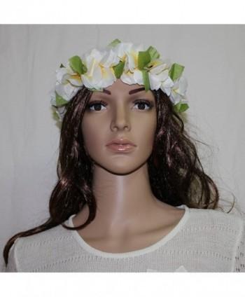Yellow White Hawaii Elastic Headband in Women's Headbands in Women's Hats & Caps