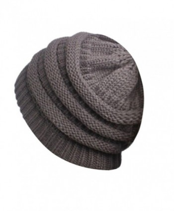 Digood Beanie Turban Stretch Ponytail
