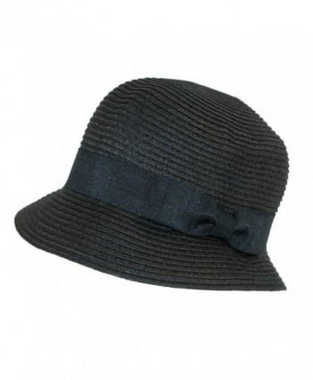 Jeanne Simmons Womens Braided Natural in Women's Bucket Hats
