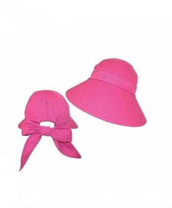Available. CTM Women s Cotton Wide Brim Facesaver Sun Visor Hat ... 26140bb2a1ff