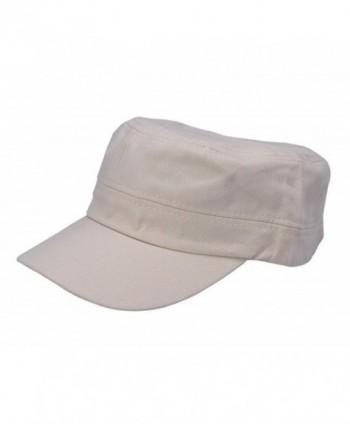 COMVIP Rivets Snapback Visor Baseball Cap Sun Hat - White Pure - CY182I0DO99