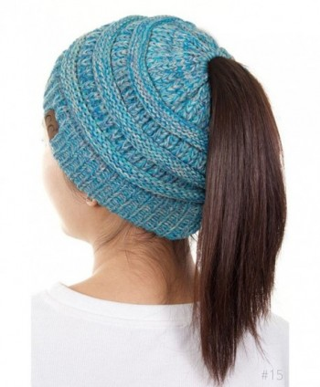 ScarvesMe Beanietail Ponytail Ribbed 15