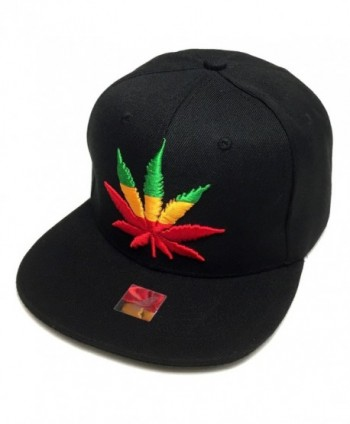 Marijuana Snapback Embroidered Adjustable Baseball