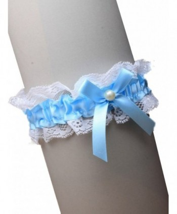 Ribbon Centre Elasticated Garter Bridal