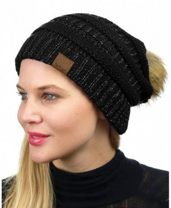 NYFASHION101 Exclusive Stretch Cable Beanie