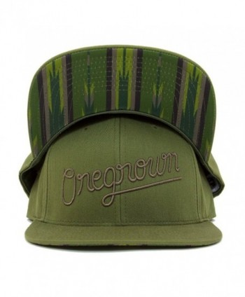 Oregrown Original Snapback - Army Green - C5188E36Q4A