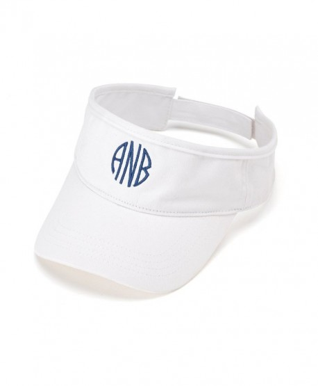 Visors Personalized White Cl12g2d8ydf