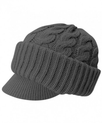 Evelots Womens Knitted Fitting Comfortable in Men's Skullies & Beanies