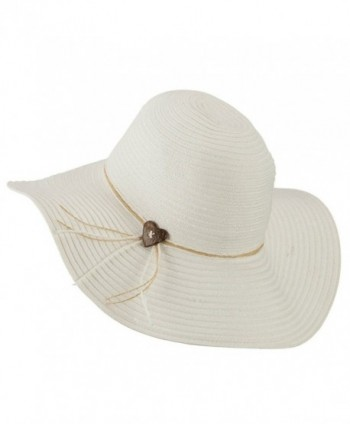573ddcad3 Coconut Band Floppy Hat - White W38S25E - CK11E8U26MZ