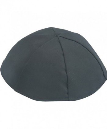 Art Judaica Black Terylene Kippah - CD187RCMQYO