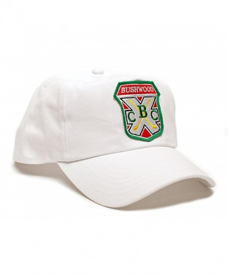 Bushwood Hat Country Club Caddyshack Movie One Size Baseball Cap White - C612JXMEK9T
