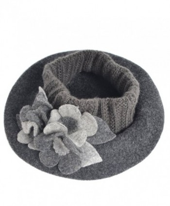 HISSHE French Beret Beanie Winter in Women's Berets