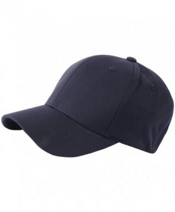 RaOn G57 Men Spandex Empty Plus Size XL XXL Flex Big Ball Cap Baseball Hat Truckers - Navy - CO182KLMLMN