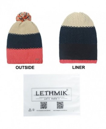 584711f65eed2 Available. lethmik Pom Pom Slouchy Beanie-Winter Mix Knit Ski Cap Skull Hat  For Women ...