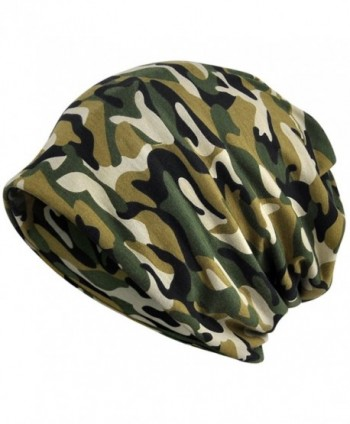 Kuyou Women's Multifunction Camouflage Hat Skull Cap scarf (Army green) - CK1880SOGLT