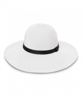 wallaroo - Harper - Wide Brim- UPF50+ Packable Sun Hat- White - White - CZ12O1U0AKU