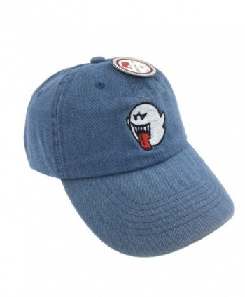 CUSTOM Ghost Baseball Embroidered Adjustable in Men's Baseball Caps