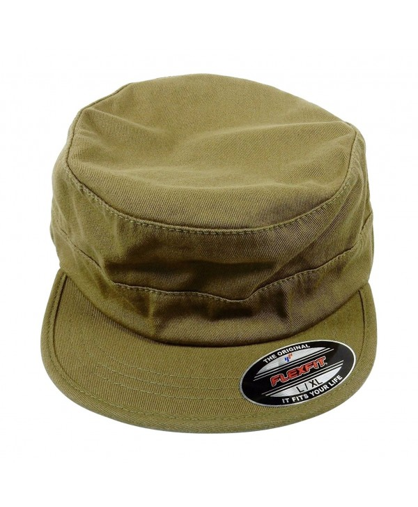Flexfit Yupoong Top Gun Garment Washed Hat 7077 - Loden - CH11LK13ZD9
