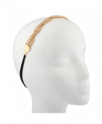 Lux Accessories Crystal Stretch Headband