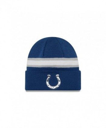 New Era Hat NFL 2016 On Field Color Knit Official Headwear Beanie - Indianapolis Colts - CS12MYQSNDT