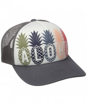 Rip Curl Junior's Tropical Fruit Twill Cap - Dark Grey/Dgy/Dgy - CY12JIM437X