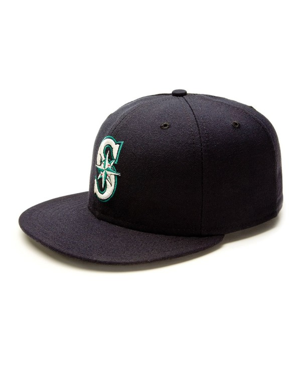 New Era Men's Authentic Collection 59Fifty - Seattle Mariners - Seattle Mariners - CY113UJQS7J