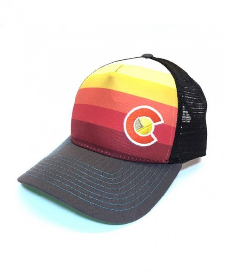 YoColorado Sunset Fader Trucker Hat - Black Mesh - CL184AKRL6L