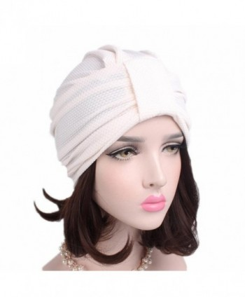 Qingfan Cancer Beanie Turban Stretch in Women's Skullies & Beanies