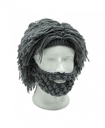 Barbarian Knitted Beard Winter Funny