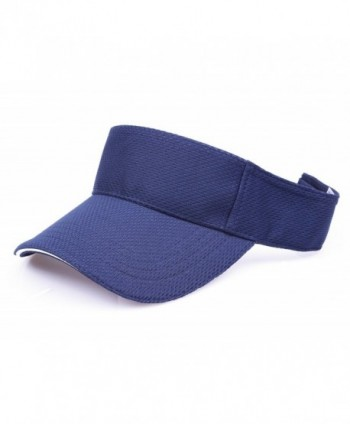 RufNTop Mesh Visor Sport Headband Athletic Sportswear Runing & Outdoor Activities for Unisex Cap - Navy - CT18585KQQI