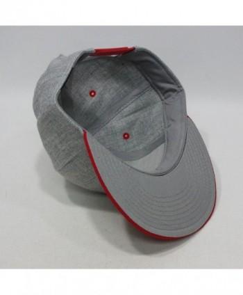 Premium Heather Adjustable Snapback Baseball in Women's Baseball Caps