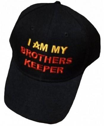 Mason Mens Hat Freemason Black Masonic Lodge Cap Brothers Keeper - CG11T2Q9YMF