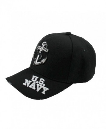 Cap City U S NAVY Black