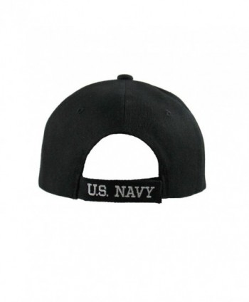 Cap City U S NAVY Black in Men's Baseball Caps