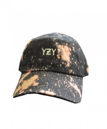 YZY Meme Acid Wash Unstructured Twill Cotton Low Profile Dad Hat Cap - C612JBKCX65
