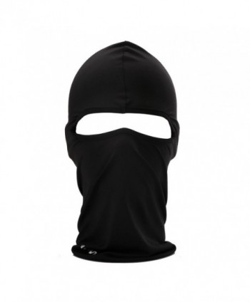 Cycling Sports Face Mask Cool Fashionable Ultra Thin Balaclava - Black - C411J5PDEUL